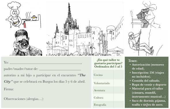 The City, Burgos (Inscripción)