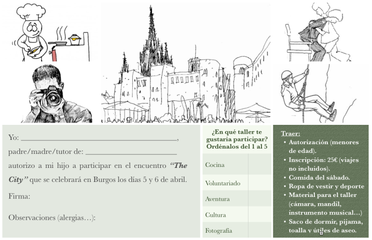 The City, Burgos (Inscripción)